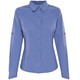 Columbia Silver Ridge Long Sleeve Shirt Women Bluebell